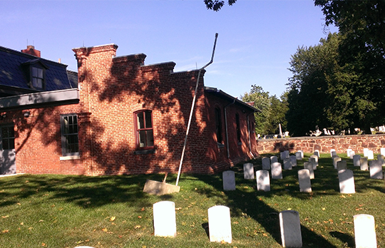 Alexandria Cemetery Superintendents Lodge