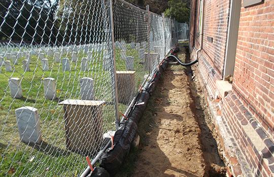 Alexandria Cemetery Superintendents Lodge